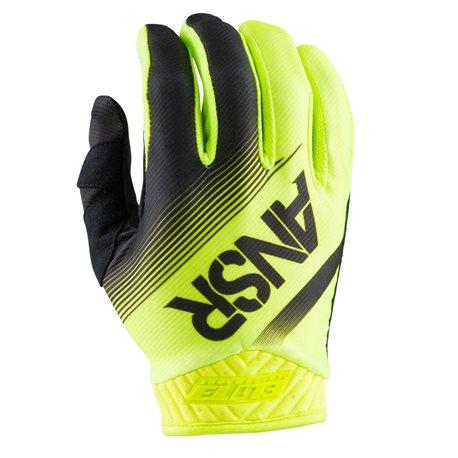 Answer Mx Glove Elite Black Hi-Viz Yellow 2017