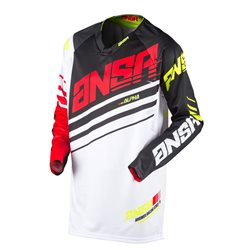 Answer Alpha Jersey White Red Black 2017
