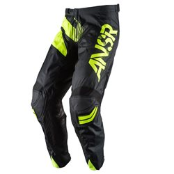 Answer Elite Pants Black Hi-Viz Yellow 2017