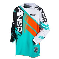 Answer Elite Jersey Teal Orange 2017