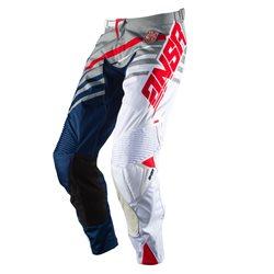 Answer Alpha Pants Grey White Navy 2017