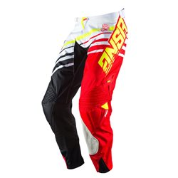 Answer Alpha Pants White Red Black 2017
