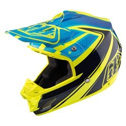 Troy Lee Designs SE3 Helmet Helm Neptune Yellow