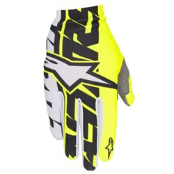 Alpinestars Dune Gloves Fluo Yellow Black White Handschuhe 2017