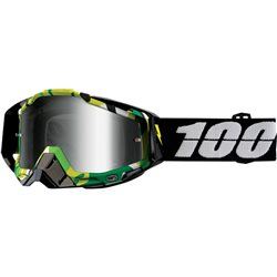 100% Racecraft Mx Goggle Bootcamp, Mirror Silver Lens