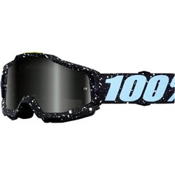 100% Accuri Mx Goggle Milkyway, Mirror Silver Lens