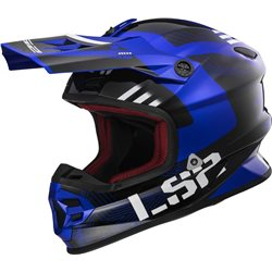 LS2 Helm MX456 Light Rallie blau schwarz