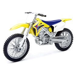Spielzeug Motorrad Suzuki RMZ 450 Modell 1:12 Modell