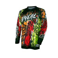 O'Neal Element Jersey Vandal black neon 2017