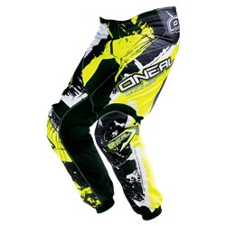 O'Neal Youth Pants Shocker black hi-viz 2017 Kinder