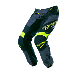 O'Neal Element Pants Racewear black/gray/hi-viz 2017