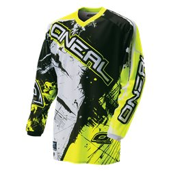 O'Neal Element Youth Jersey SHOCKER black/hi-Vis Kinder