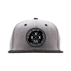 Moto XXX Cap OG International grau