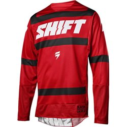 Shift 3lack Strike Jersey Red 2018