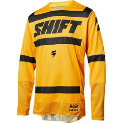 Shift 3lack Strike Jersey Yellow 2018