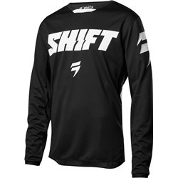 Shift Whit3 Ninety Seven Jersey Black 2018