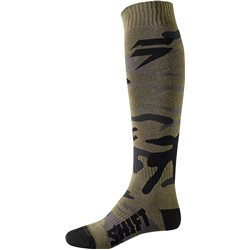 Shift Whit3 Label Sock Fat Camo 2018