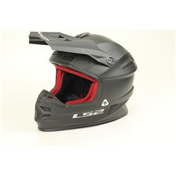 LS2 Helm MX456 HPFC Single Mono schwarz