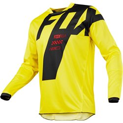 Fox 180 Mastar Jersey Yellow 2017