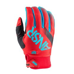 Answer Mx Glove Syncron Cyan Red 2017