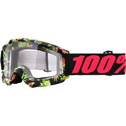 100% Accuri Mx Goggle Chapter, Mirror Clear Lens