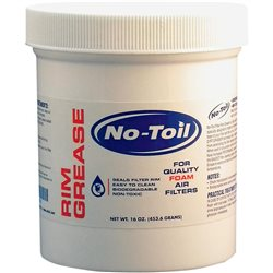 No Toil Rim Grease NT 16 OZ Luftfilter Luftfilterabdichtung