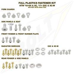 Schraubenkit für Plastikteile KTM SX 16- EXC 17