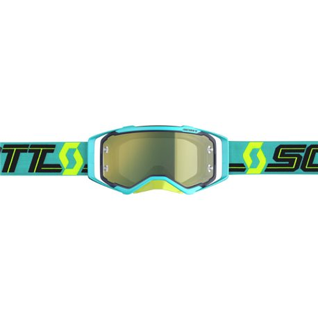 Scott Prospect Blue Teal - Yellow Chrome Works