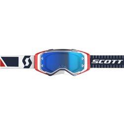 Scott Prospect Red Blue - Electric Blue Chrome Works