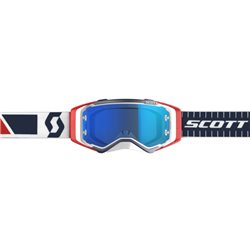 Scott Prospect Red Blue - Electric Blue Chrome Works