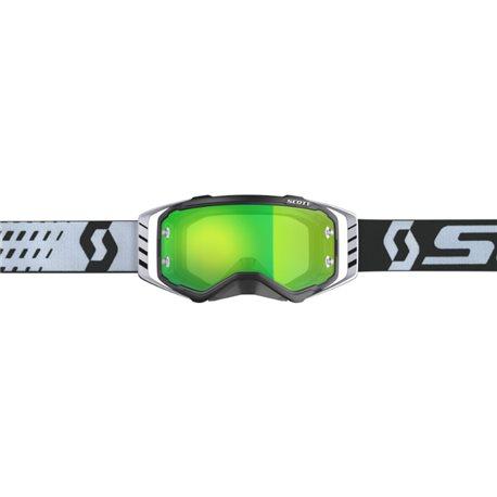 Scott Prospect Black White - Green Chrome Works