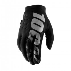 100% BRISKER COLD WEATHER GLOVES HANDSCHUHE NEOPREN BLACK/GRAY