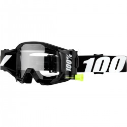 100% Strata SVS Forecast Outlaw black Mx Goggle