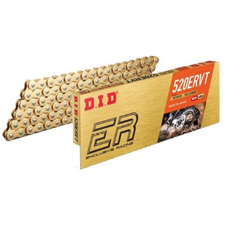 DID 520 ERVT X-Ring Kette - 118 Glieder 3820kg gold