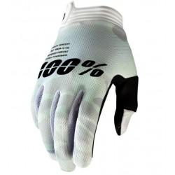 100% iTrack Handschuh Gr. L camo weiß / glove camo white