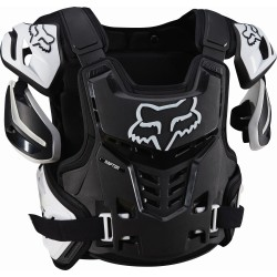 Fox Raptor Vest black white