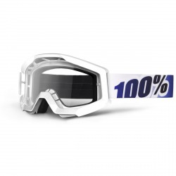 100% Strata Mx Goggle Ice Age, Mirror Clear Lens