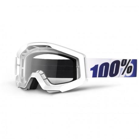 100% Strata Ice Age, Mirror Clear Lens