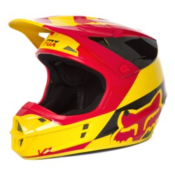Fox V1 Helmet Mako yellow
