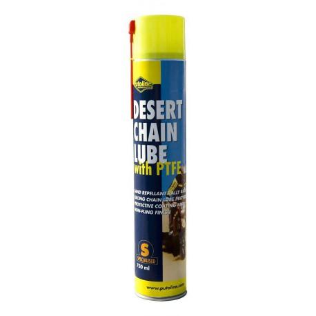 70601 Putoline Desert Chain Lube Kettenspray O X Ring Sand 750ml