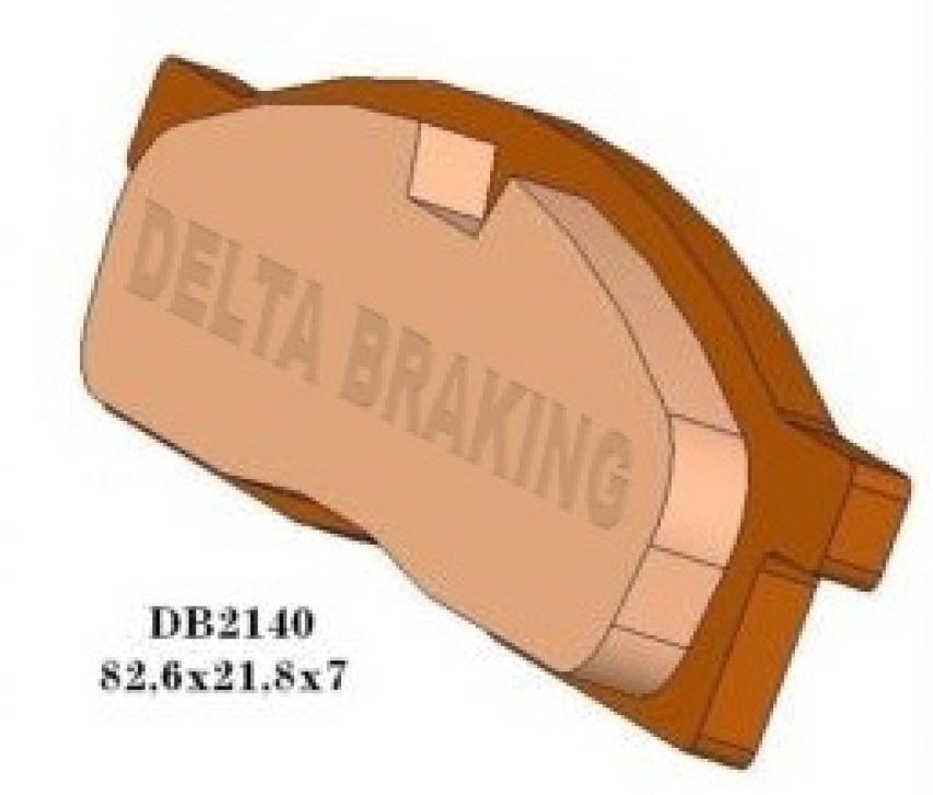 Bremsbeläge DB2310 Yamaha YZ YZF Kawasaki KX KXF Sherco Beta 125 250 450 hinten
